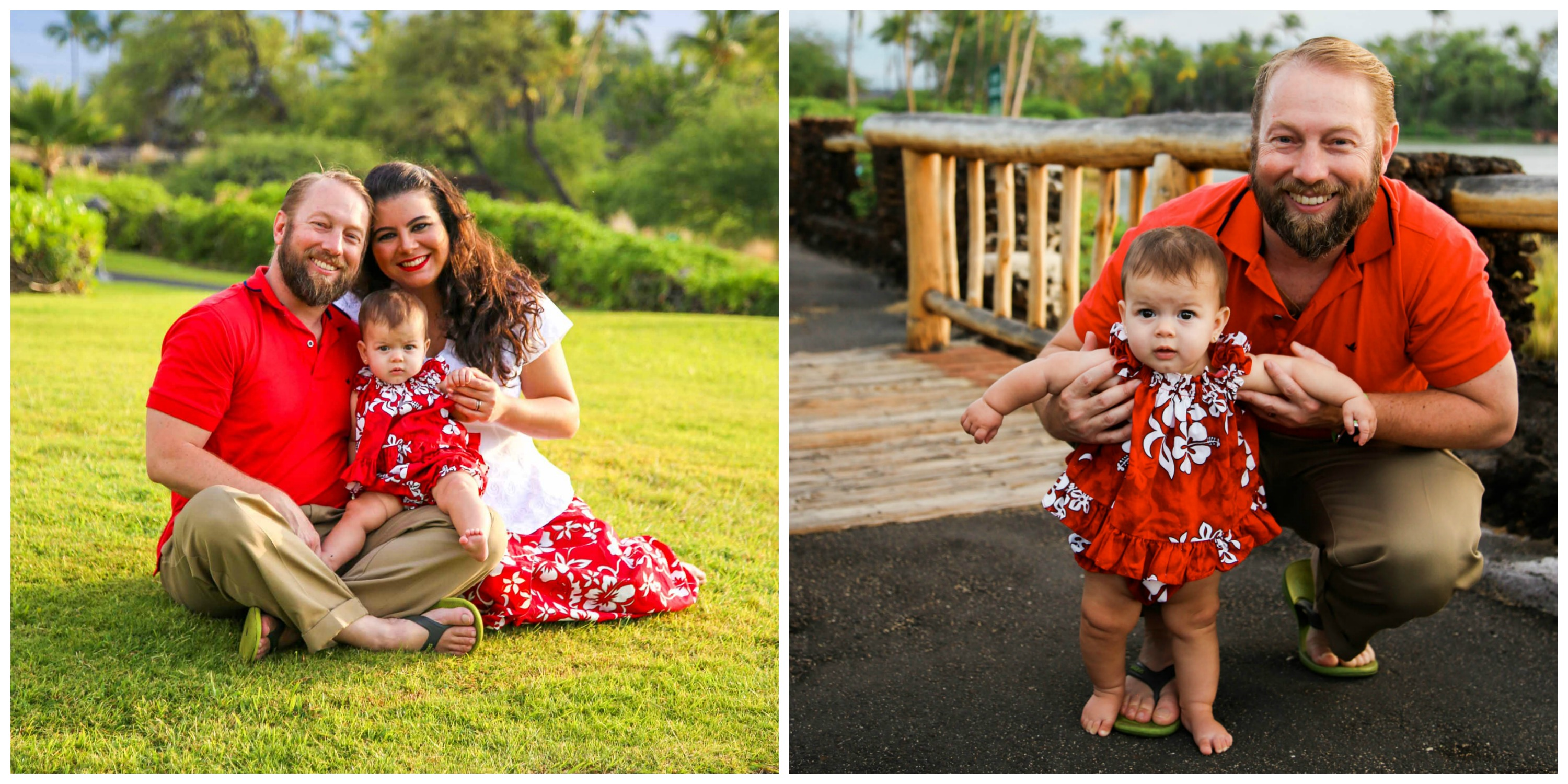 Baby in Hawaii